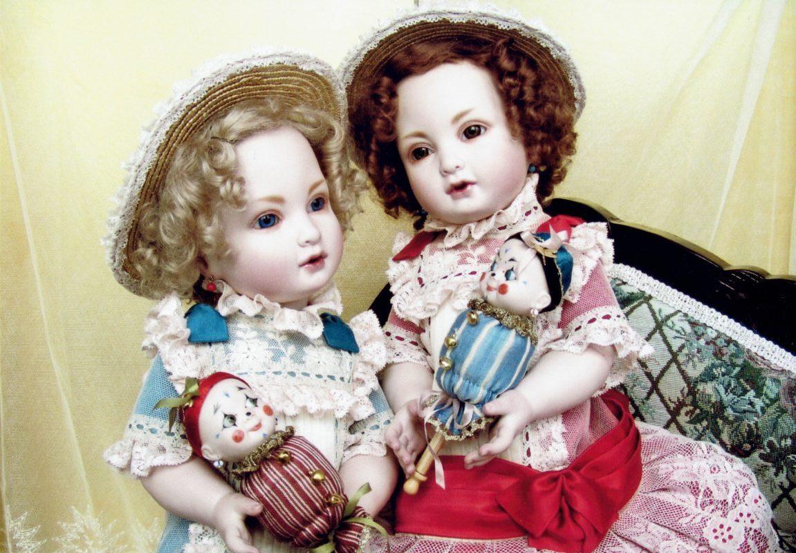 創作ビスクドール Dolly Rouge & Bleu