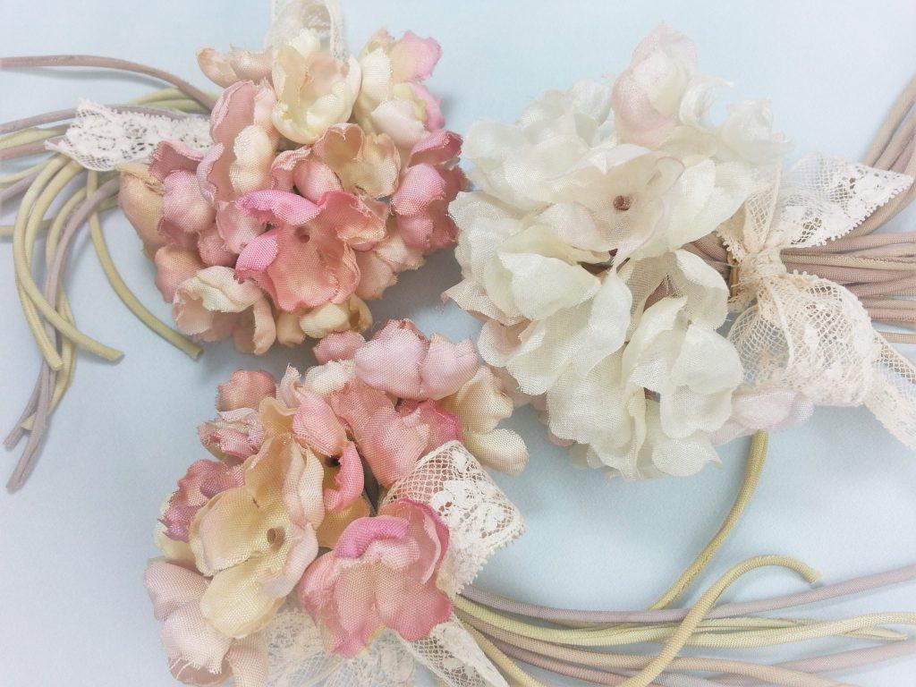 ふんわりシルクの花束