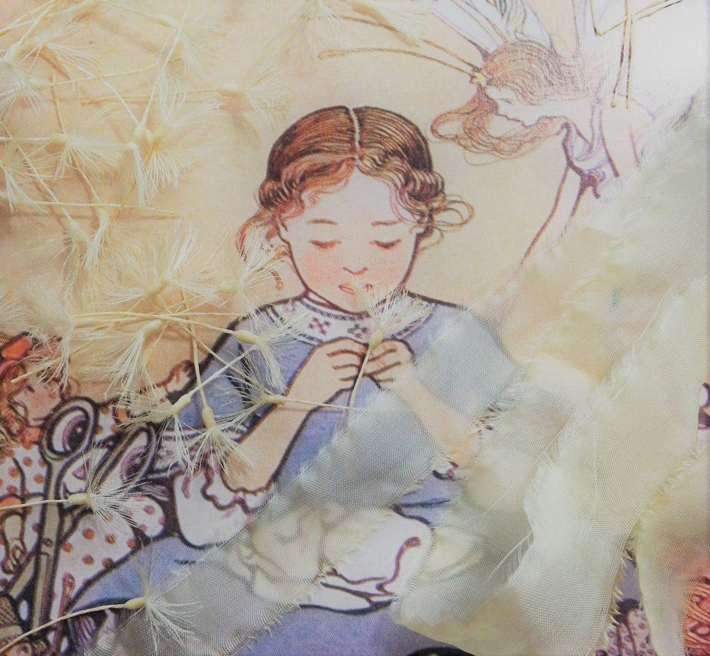 布花│タンポポの綿毛